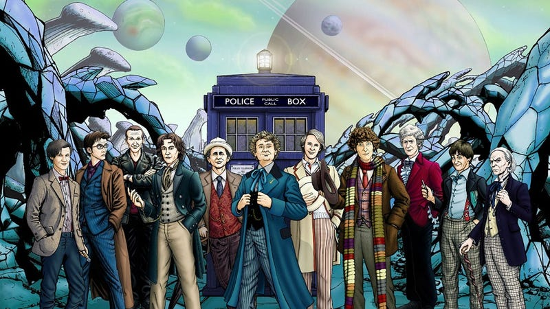 Illustration for article titled 10 Totally Different TV Shows that Doctor Who Has Been Over the Years