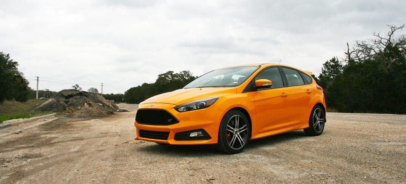 Illustration for article titled The Ford Focus ST Is Fun Even When You Have A McLaren In Your Garage