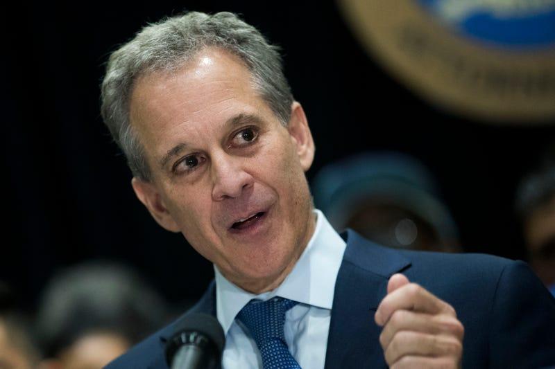 Now-former New York Attorney General Eric Schneiderman in 2017