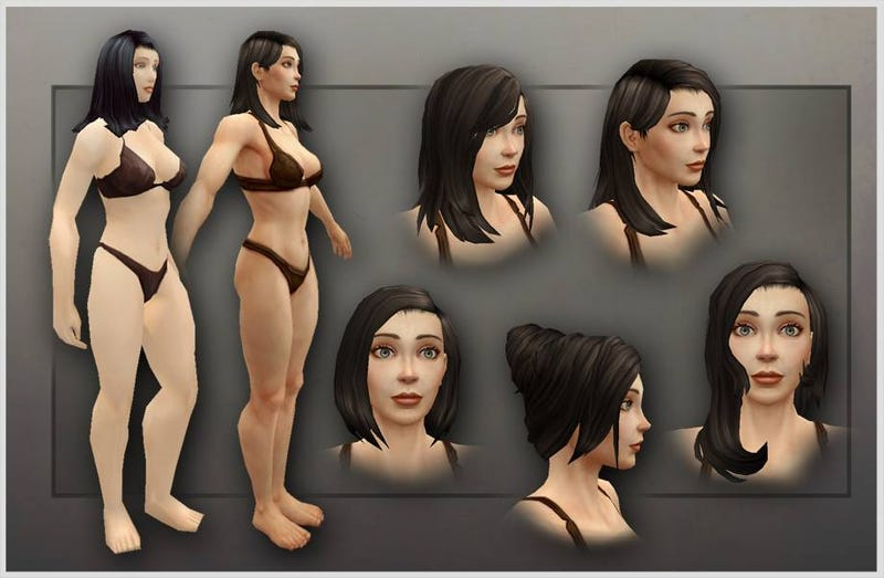 Illustration for article titled Blizzard reveals the new look of WoW's human female character models