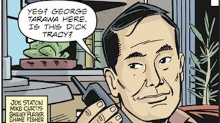 Illustration for article titled Dick Tracy's newest partner-in-crime-fighting is none other than George Takei