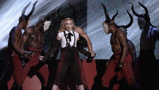 Illustration for article titled Madonna Will Stick to Dating Hot Young Dancers For a While, Thanks