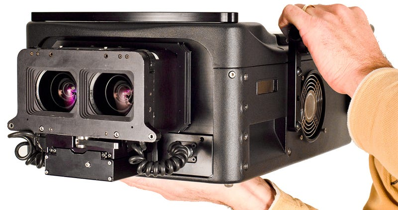 Illustration for article titled Here's the 4K IMAX Camera That's Going to Make 3D Movies Awesome Again