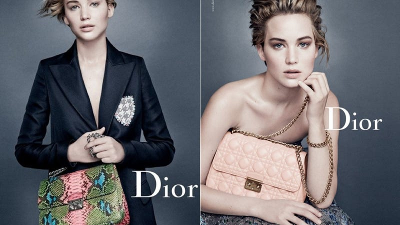 Illustration for article titled Jennifer Lawrence Looks Lovely, Slightly Befuddled in New Dior Ads