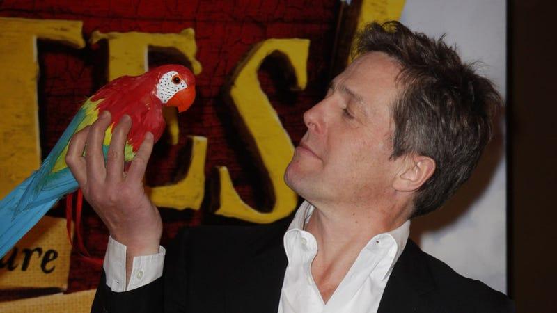 Illustration for article titled Hugh Grants Flips the Bird
