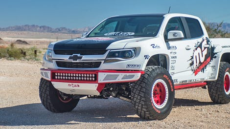 The Us Armys Chevy Colorado Zh2 Looks Ready For World War Iv