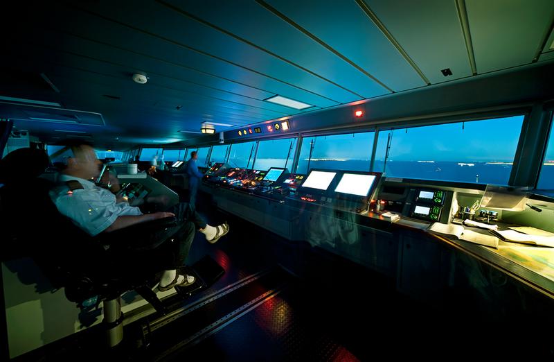 Un viaje (en fotos) a bordo de uno de los barcos más grandes del mundo