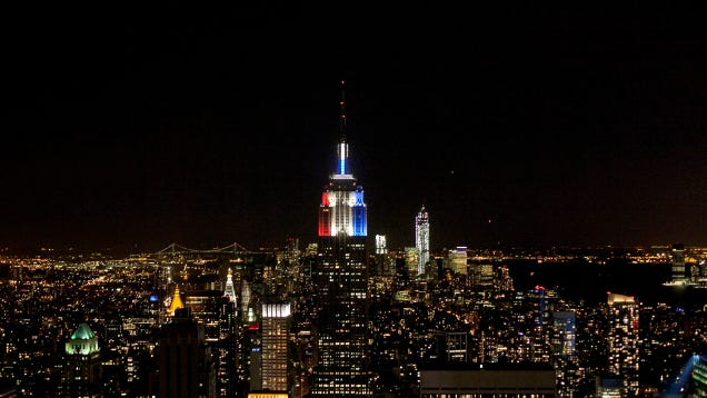 The Empire State Building Runs on the Wind Now