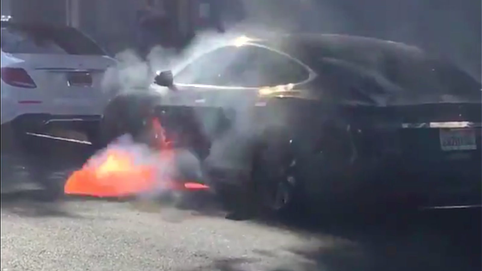 GM Offers Bolt EV To 'West Wing' Actress After Her Husband's Tesla Model S Burst Into Flames