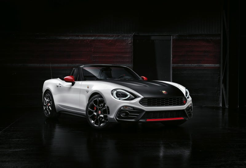 Illustration for article titled Abarth 124 Spider