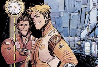 Illustration for article titled Time Itself Is The Newest Frontier In Mark Millar's Chrononauts
