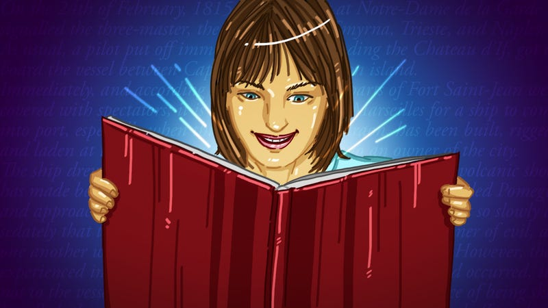"""Illustration for article titled How to Make Reading Less Like a Lecture and Get """"Sucked In"""" Every Time"""