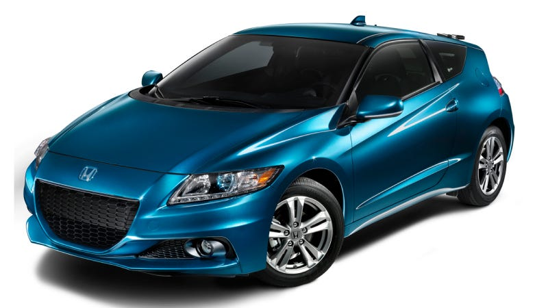 Illustration for article titled 2014 Honda CR-Z Sport Hybrid Coupe Offers Sleek Exterior Design, Feature Rich Interior and Outstanding Fuel Efficiency