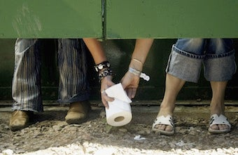 Illustration for article titled Women Push For Equal Potty Rights