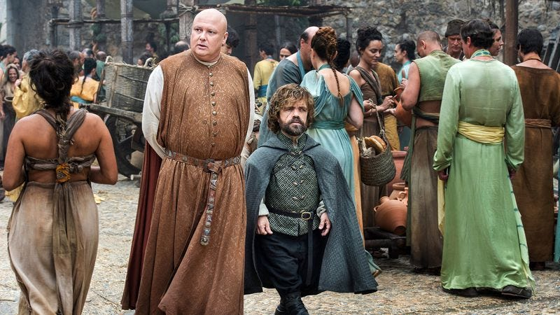 Varys and Tyrion (All photos in this piece courtesy of HBO)