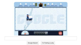 Illustration for article titled Challenge Your Friends and Claim Zamboni Dominance With Today's Google Doodle