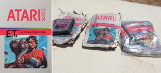 Illustration for article titled Those Excavated E. T. Video Game Cartridges Are Being Auctioned Off