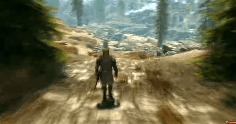 Very Fast Walk Across Skyrim's Map Is Literal Fast Travel