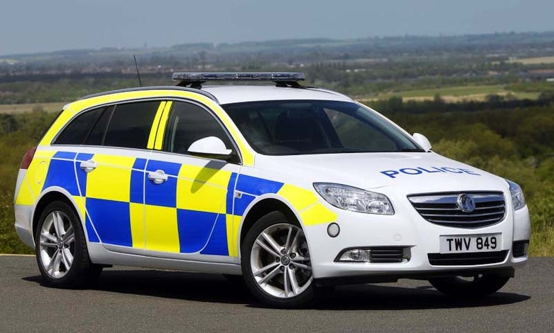 Illustration for article titled Vauxhall Insignia Wagon To Become Euro-Cop's Best Friend