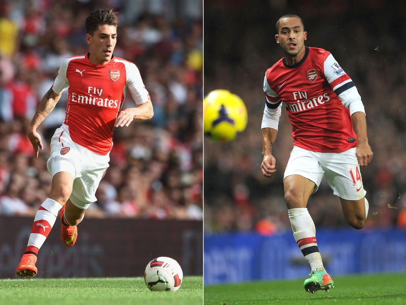 Illustration for article titled Hector Bellerin Confirms he is Faster than Theo Walcott