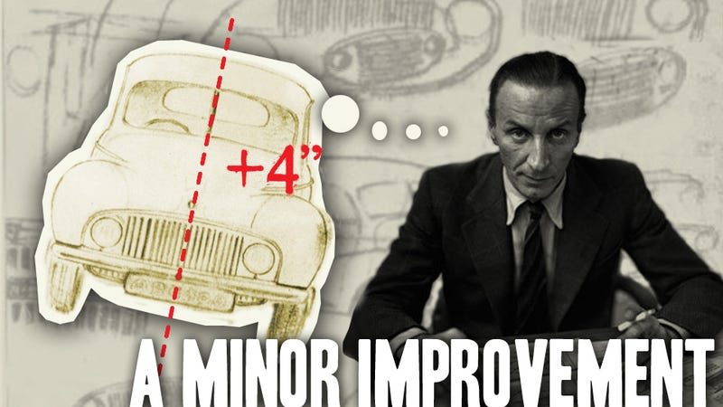 Illustration for article titled Why This Iconic Auto Designer Bisected His Baby