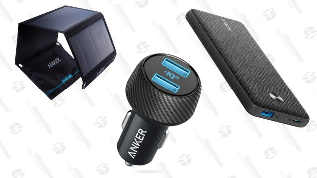 Save up to 43% on Anker Charging Products, Today Only