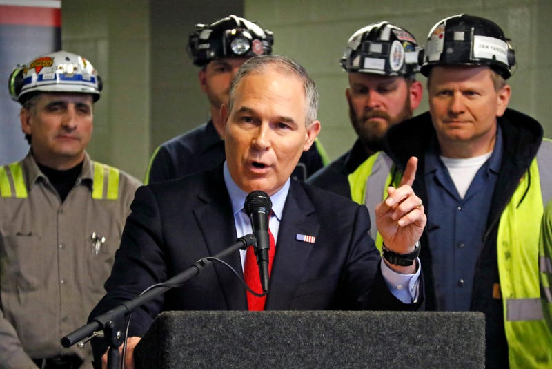 EPA head tells coal miners 'regulatory assault is over'
