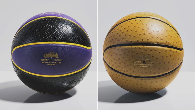 Illustration for article titled You Will Never Want To Bounce These Stunning Leather Basketballs