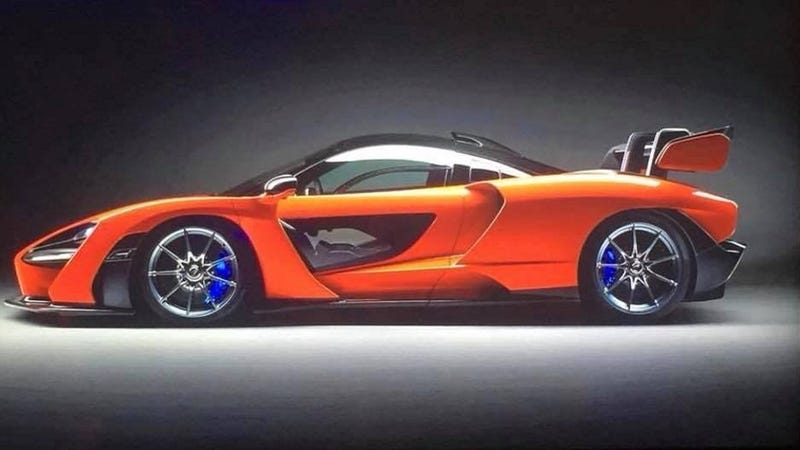 Illustration for article titled Here Is The McLaren Senna Before You're Supposed To See It