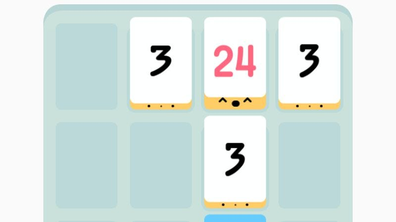 Illustration for article titled The iPhone hit Threes gives you cuteness where you least expect it