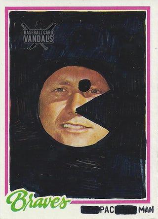 Illustration for article titled Baseball Card Vandals