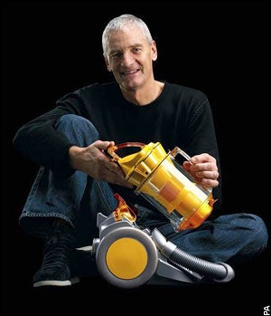 Illustration for article titled Praising Failure: James Dyson Talks Vacuum's 5,127 Prototypes