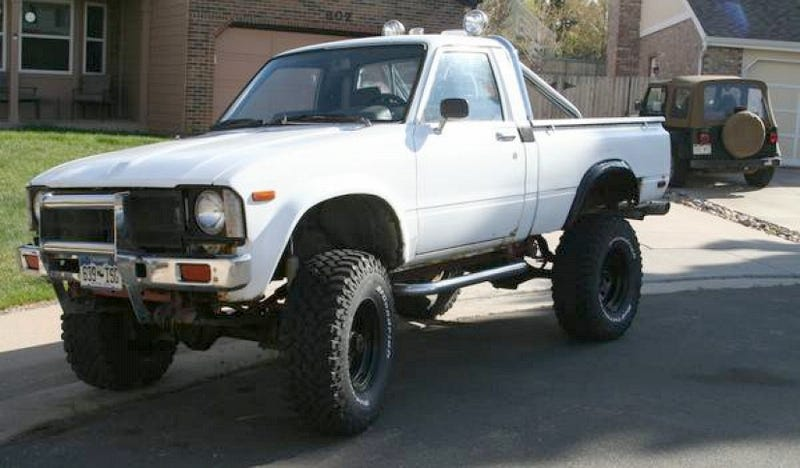 Illustration for article titled For $4,000, This Hilux Is Just Supra, Thanks For Asking