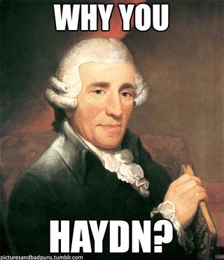 Illustration for article titled Haydn. No meg a szimfónia.