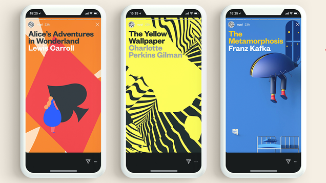 The New York Public Library is Turning Classics Into Instagram Stories