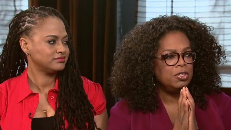 Ava DuVernay and Oprah Winfrey (Screenshot: YouTube)