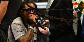 Lil Wayne performs at the MGM Grand Garden Arena in Las Vegas. (Ethan Miller/Getty Images)