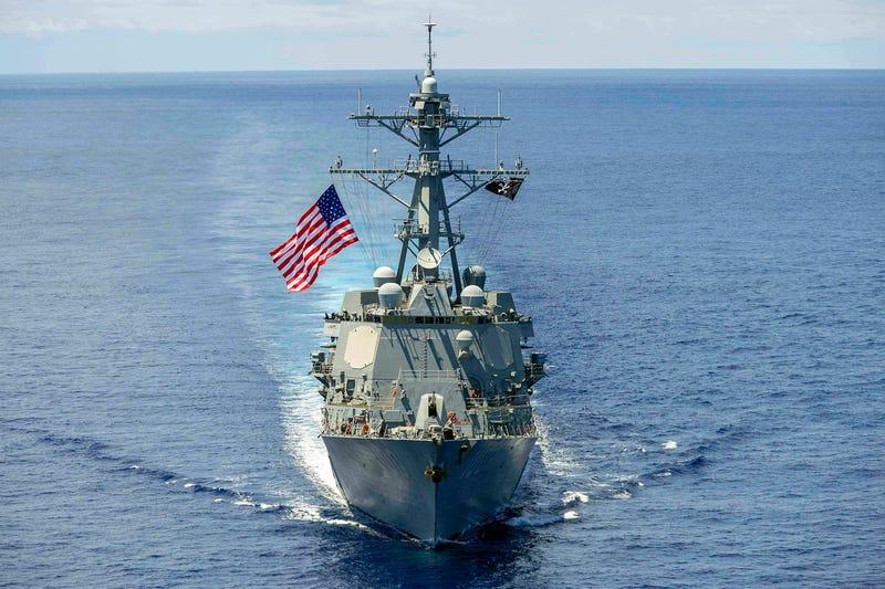 USS Kidd in South China Sea. Photo Credit: U.S. Navy