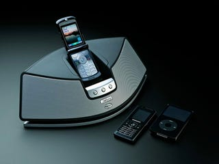 Illustration for article titled Jabra S5010 Docks Your Phone and MP3 Player