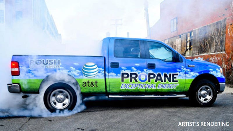 AT&T To Buy 15,000 Hybrid, Natural Gas-Powered Vehicles