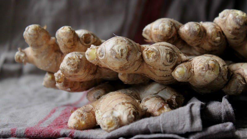 Roasting Ginger Makes It More Flavorful Than Ever