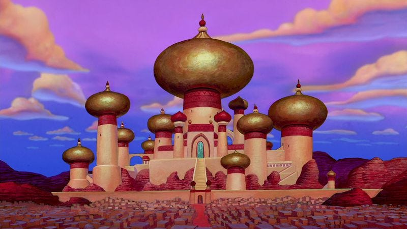 Illustration for article titled 30 percent of GOP voters in recent poll support bombing Aladdin's fictional homeland