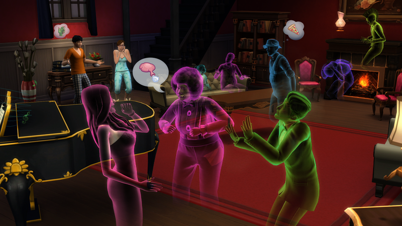 Illustration for article titled The Sims 4 Will Bring Back Ghosts And Swimming Pools (Free Of Charge)