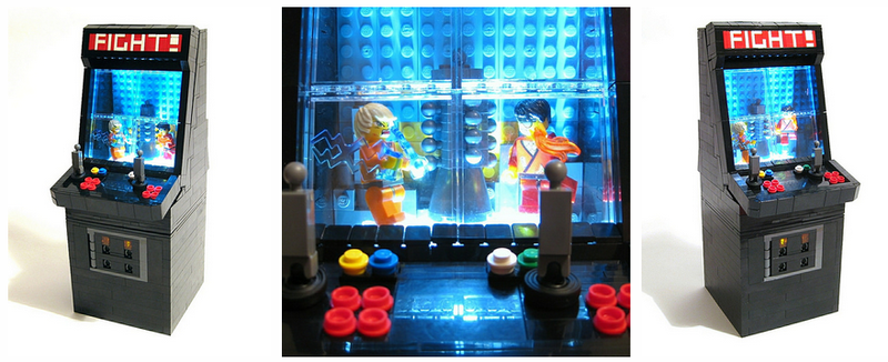 Illustration for article titled Lego Arcade Console