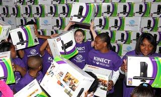 Kids clamor for Kinect.