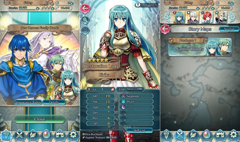 Illustration for article titled First Big Fire Emblem Heroes Update Brings New Characters And Quests