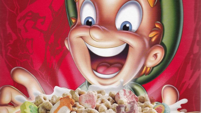Illustration for article titled New study confirms cereal boxes are staring into your soul