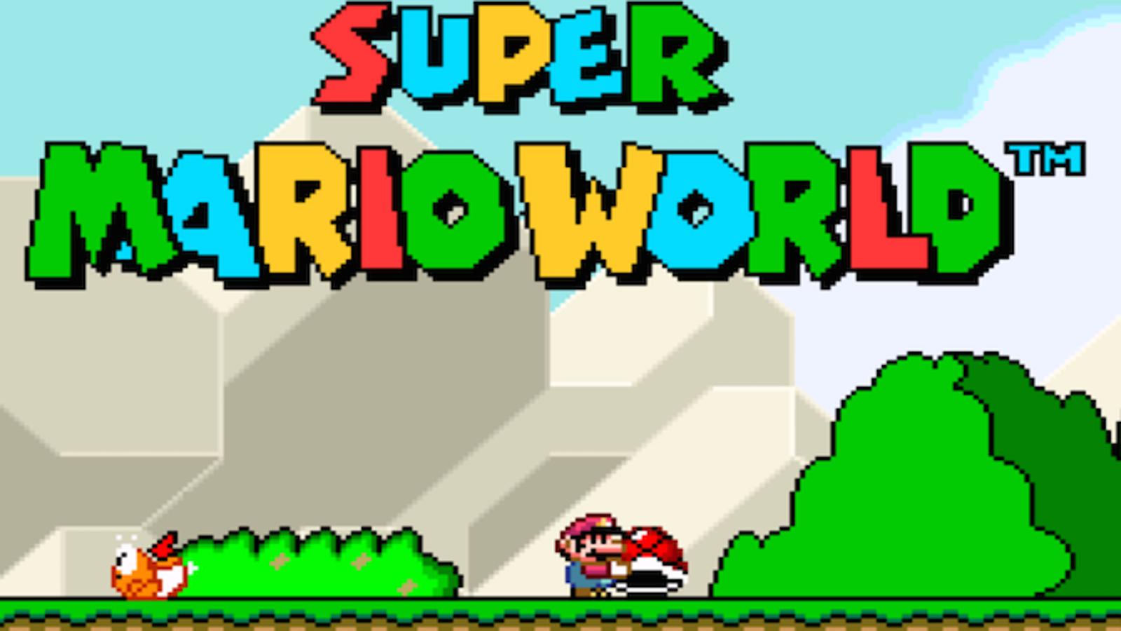 Logran hacer un truco de Super Mario World que se creía imposible
