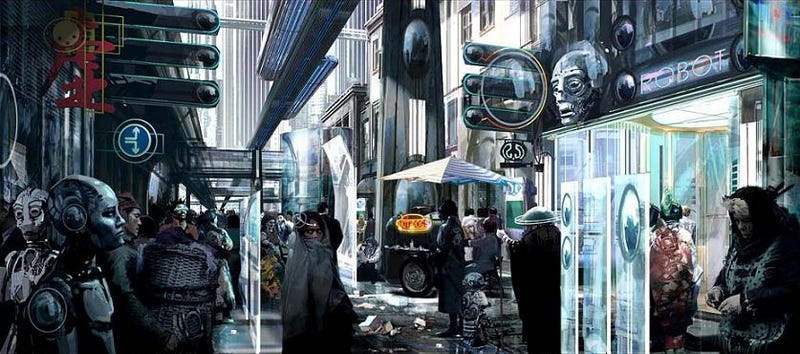 Illustration for article titled Stephan Martiniere: The Future Will Be Bio-Mechanical