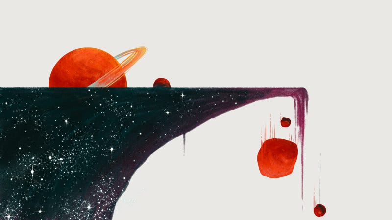 Illustration for article titled Qué hay al borde del universo